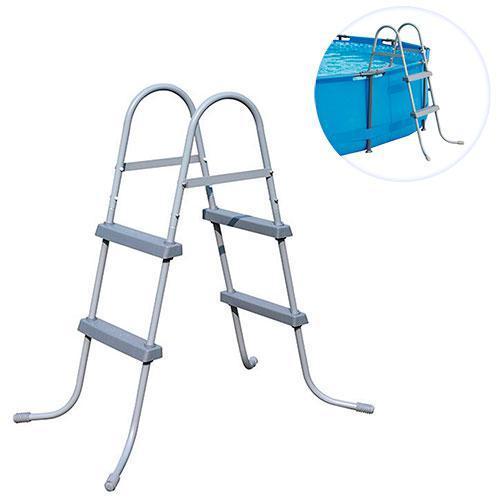 Лестница для бассейнов Bestway 58430 до 84см, 2 ступеньки, без площадки