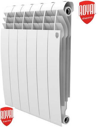 Биметаллический радиатор отопления (батарея) 500x85 Royal Thermo Vittoria+ (боковое подключение), фото 2