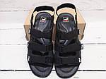 Мужские сандалии Fila (черные) , фото 4