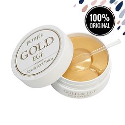 Гидрогелевые патчи для глаз с золотом и EGF PETITFEE Gold & EGF Eye & Spot Patch, 90 шт