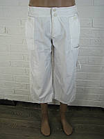Бриджі жіночі плащівка білі Sport АВ-36282 XL
