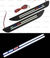 DRL дневные ходовые огни гибкие ДХО LED № 14 12V 314 (гибкие на 3М скотче)