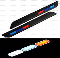 DRL дневные ходовые огни гибкие ДХО LED № 11 12V 3841 (гибкие на 3М скотче)