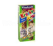Крекер для шиншилл кальций Vitakraft Kracker (Витакрафт) 2 шт