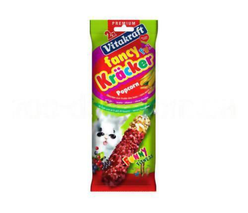 Крекер для кроликов с попкорном Vitakraft fancy popcorn (Витакрафт фанси) 2 шт