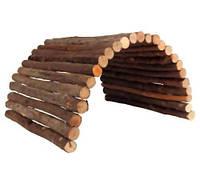 Домик-мост деревянный для грызунов Trixie  28 × 17 см