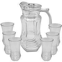Набор стаканов с графином 7пр/наб 250мл 1.5л R86701