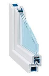 Металлопластиковые окна профиль Trocal, Харьков