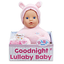 Беби Борн Музыкальная кукла  Колыбельная голубые глаза  BABY Born