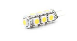 Світлодіодна лампа G4 2,8 W 12V 13штук smd5050 Теплий білий