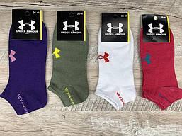 Набор женских спортивных носков 12 пар, упаковка (носки в стиле Under Armour ) 36-41 размер