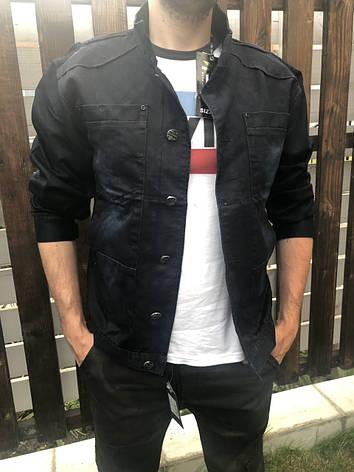 Куртка мужская джинсовая  больших размеров  RECIPIENT, Турция, фото 2
