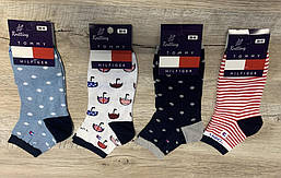 Набор носков 12 пар упаковка  (носки, шкарпетки в стиле Tommy Hilfiger)35-41 размер