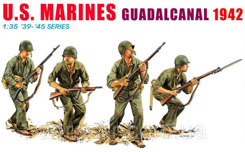 Marines Guadacanal 1942 1/35 Dragon 6379
