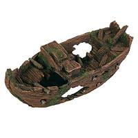 Декорація для акваріума Trixie Розбитий корабель, 29 см