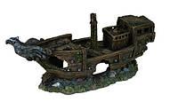 Декорация для аквариума Trixie Разбитый корабль 32 см