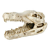 Декорация для аквариума Trixie Череп крокодила, 14 см