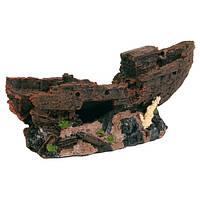 Декорация для аквариума Trixie Затонувший корабль, 24,5 см