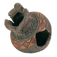 Декорация для аквариума Trixie Разбитый кувшин, 13,5 см