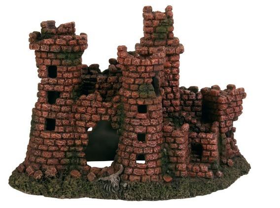 Декорация для аквариума Trixie Развалины крепость, 27 см