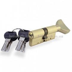 Цилиндр замка Apecs XD-70 (35х35)-C01-G золото ключ/поворотник