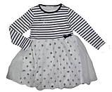 Нарядное детское платье для девочки рост 122 - 128  Emma Girl 7796, фото 3