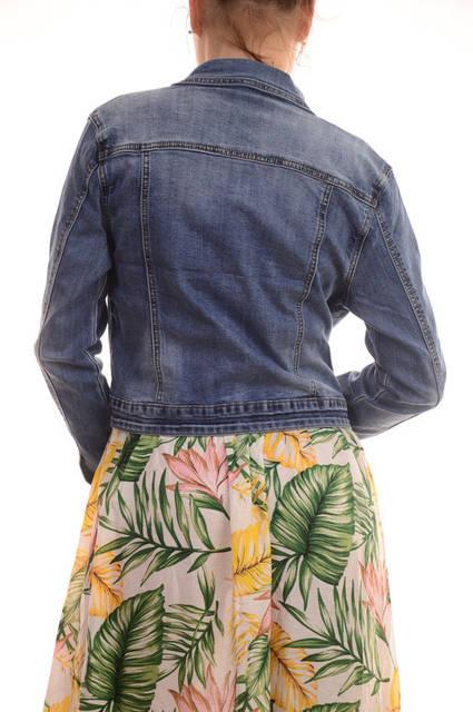 Стильные женские джинсовые куртки сток оптом Miss Bon Bon лот12шт по 18Є 70
