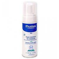 Mustela Пенка-шампунь Mustela для новорожденных Foam Shampoo for Newborns (150 мл)