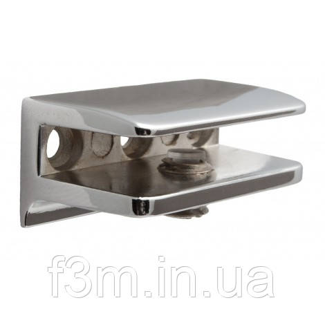 Полкодержатель для стекла F3M S=4-7 мм с прижимом LETTERA F