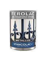 Краска Ferolac с металлической крошкой, антикоррозийная, Станколак (Stancolac) 1 кг