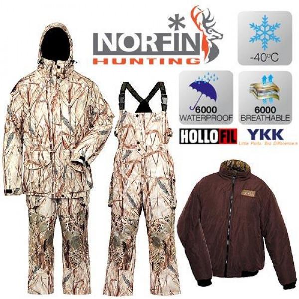Костюм зимовий Norfin Hunting North Ritz (-40 °) 719006-XXXL