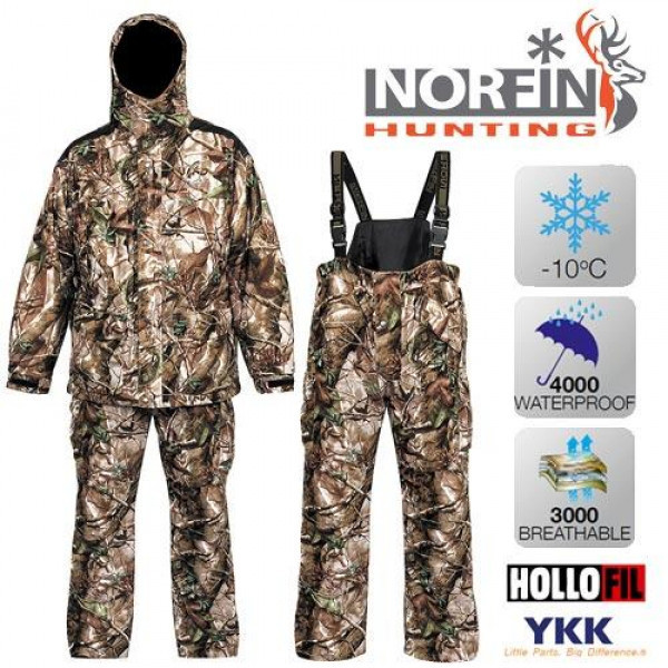 Костюм зимний Norfin Hunting Game Passion Green (-10°) 715006-XXXL