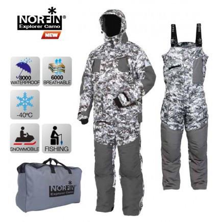 Костюм зимовий Norfin EXPLORER CAMO (-40 °)