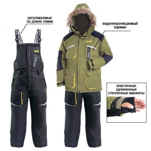 Зимний костюм для рыбалки Norfin TITAN (-40) 40700