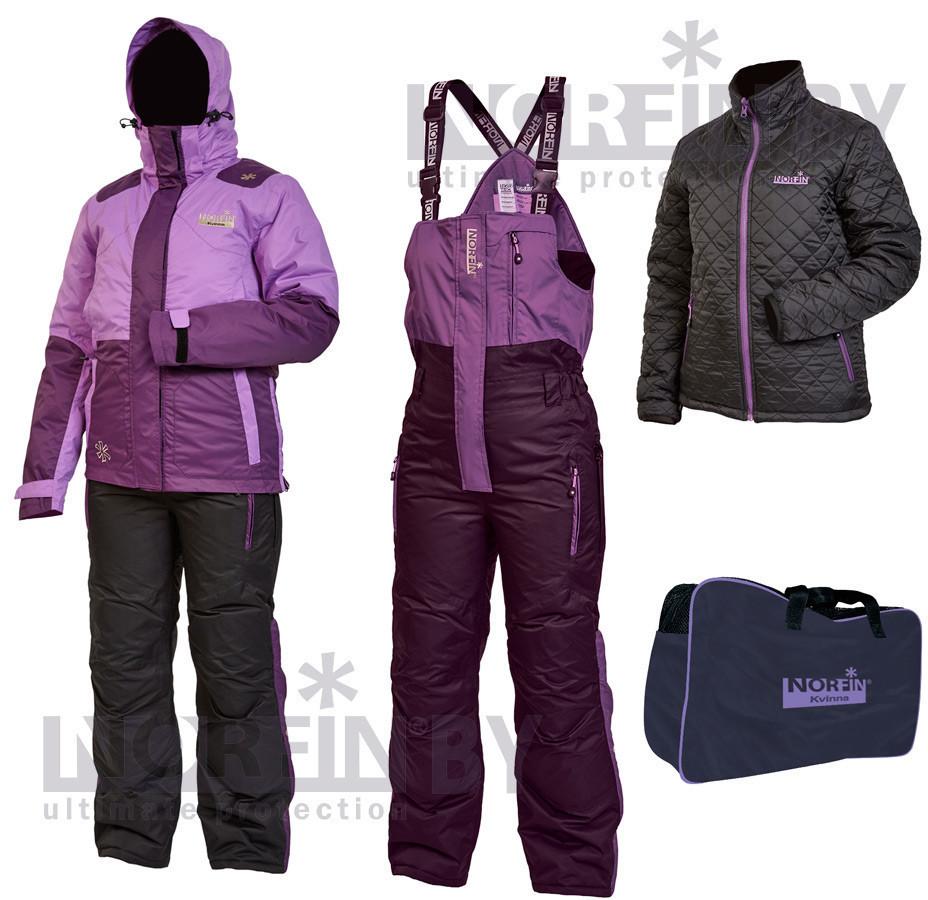 Зимовий костюм для риболовлі Norfin KVINNA (фіолет) -30 531 004-XL