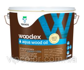 TEKNOS WOODEX Aqua WOOD OIL Масло для дерева Бесцветный 2,7л