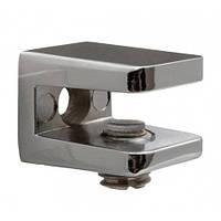 Полкодержатель для стеклаF3M S=4-7 мм с прижимом SIMPLE 1