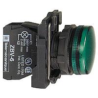 XB5AVB3  Сигнальная лампа 22мм 24В зеленая Schneider Electric