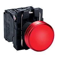 XB5AVB4  Сигнальная лампа 22мм 24В красная Schneider Electric