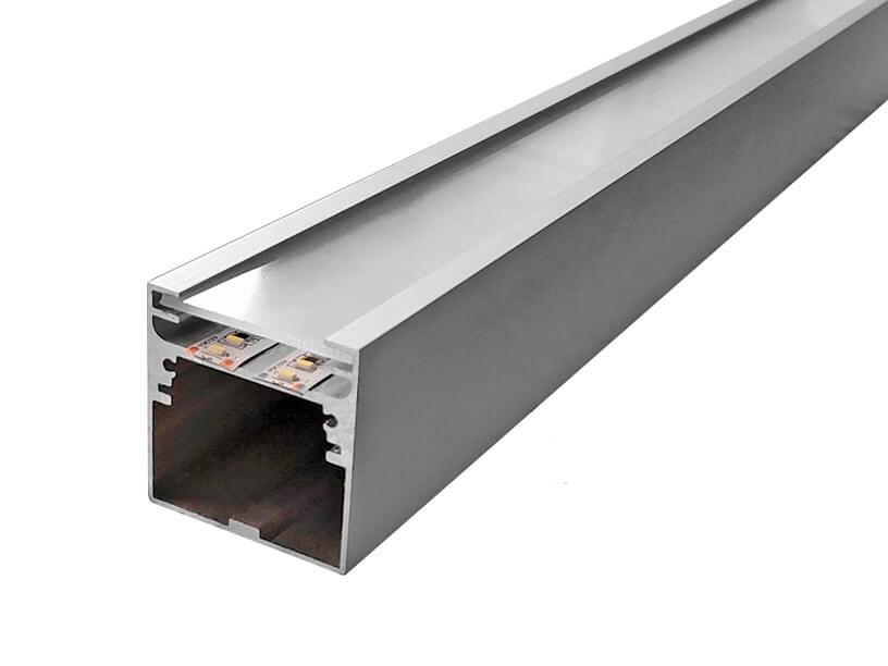 LED Профіль для світлодіодної стрічки накладної PL024