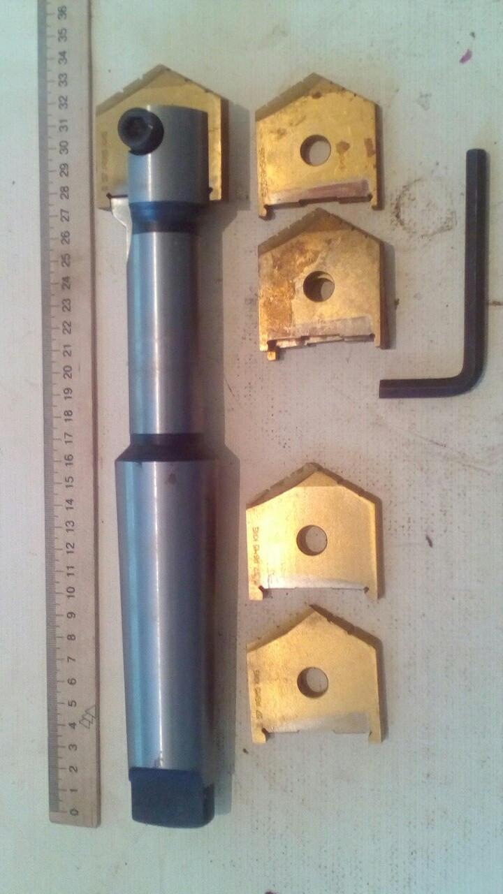 Сверло перьевое 51-63, перо,ключ(комплект) по металлу .