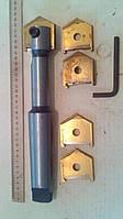 Сверло перьевое 51-63, перо,ключ(комплект) по металлу ., фото 1
