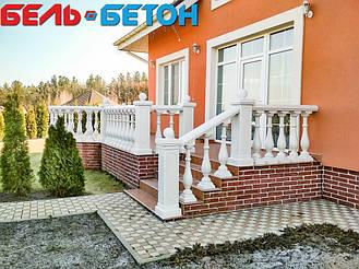 Балюстрада белая в Макаровском районе | Балясины искусственного мрамора в Swisstown 5