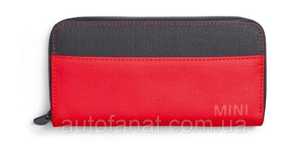 Оригінальний міні MINI гаманець Colour Block Wallet, Coral/Grey (80212460856)