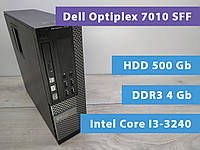 Системный блок Dell Optiplex 7010 SFF Intel Core I3-3240/4gb/hdd 500g
