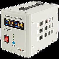 ИБП с правильной синусоидой LogicPower LPY-PSW-800VA+ (560W) 5A/15A 12V для котлов и аварийного освещения