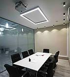 LED Профіль для світлодіодної стрічки накладної PL024, фото 4