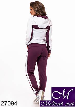 Женский спортивный костюм трикотаж (р. S, M, L) арт. 27094, фото 2