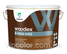 TEKNOS WOODEX AQUA SOLID Кроющий антисептик База 1 2,7л