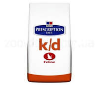 Hill's PD Feline K/D (Хиллс) - лечебный корм для кошек 0,4 кг